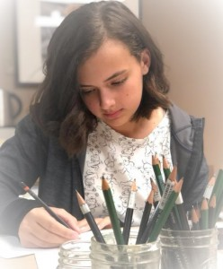 Art Student I