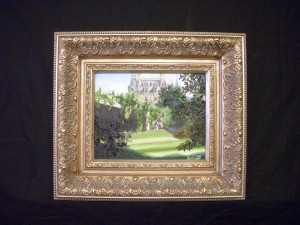 The Historic Biltmore Estate - Ashville, NC Oil on Canvas by Sarah West (2012)