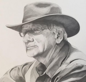 Jim Avett Portrait VI