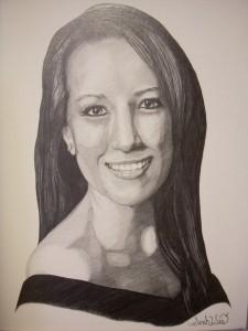 Commission Portrait II - Graphite on Paper by Sarah West (2010)