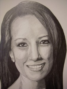 Commission Portrait- Graphite on Paper by Sarah West (2010)