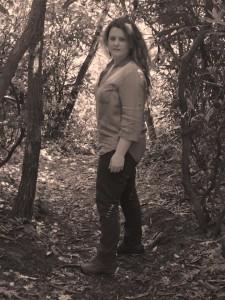 Sarah on Buck Springs Trail, Mt. Pisgah| NC