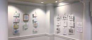 Meditative Paintings & Fundamental Drawings featuring area school students