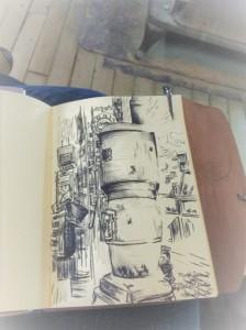 Mast Sketch. Stove I