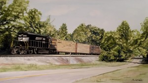 """Afternoon on County Road 243"" 