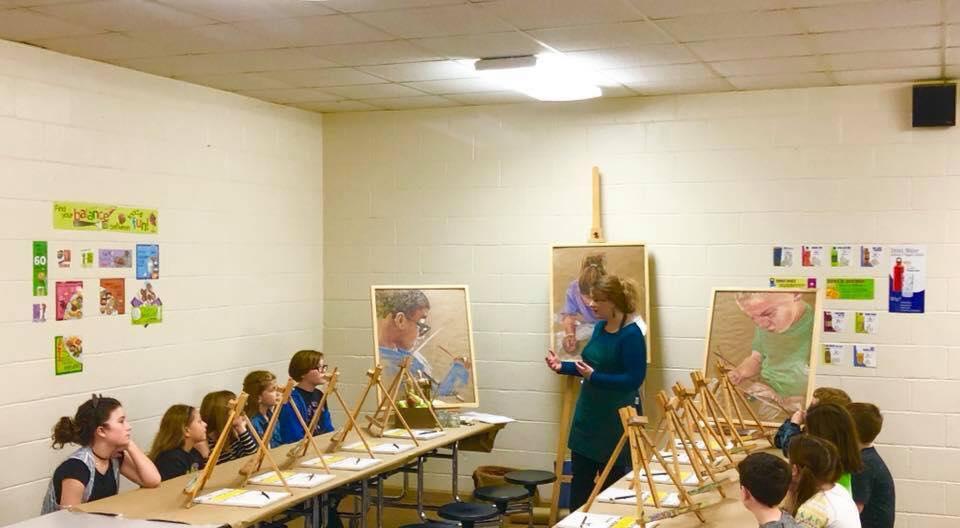 WSSES School Art Class