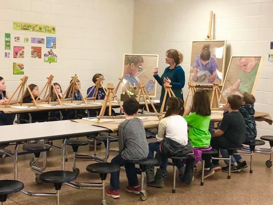 After School Art Classes at West Smiths Station Elementary School