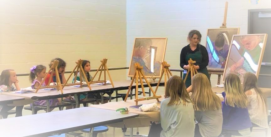 After School Art Classes at Wacoochee Elementary School