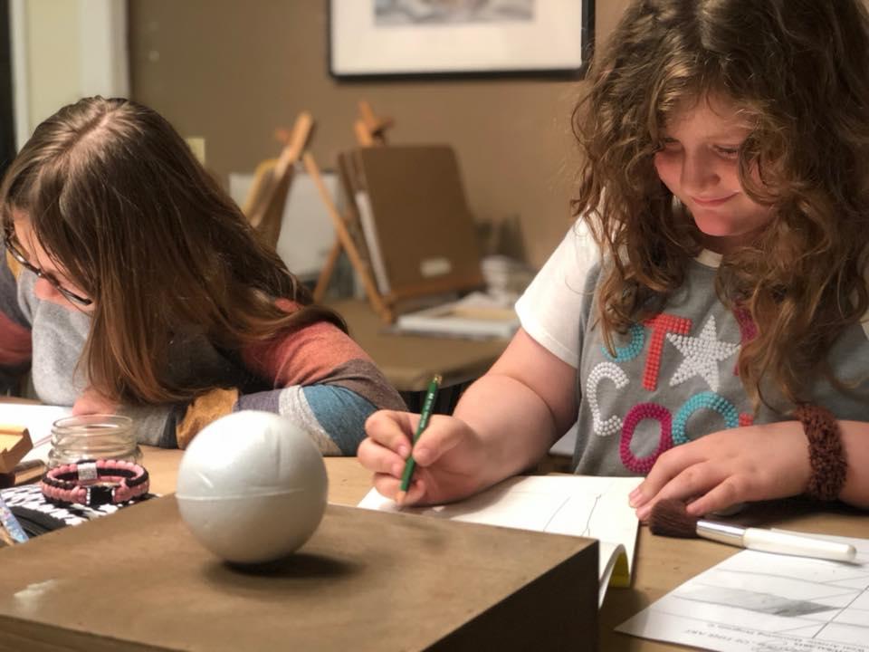 Studio Art Classes | The Sarah West Gallery of Fine Art