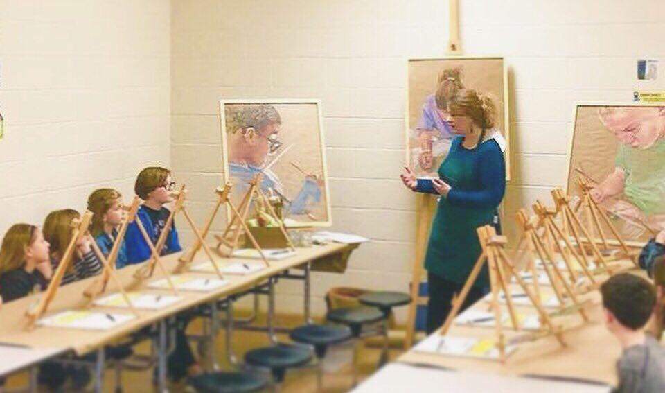 Taking Fine Art Education into Alabama Schools
